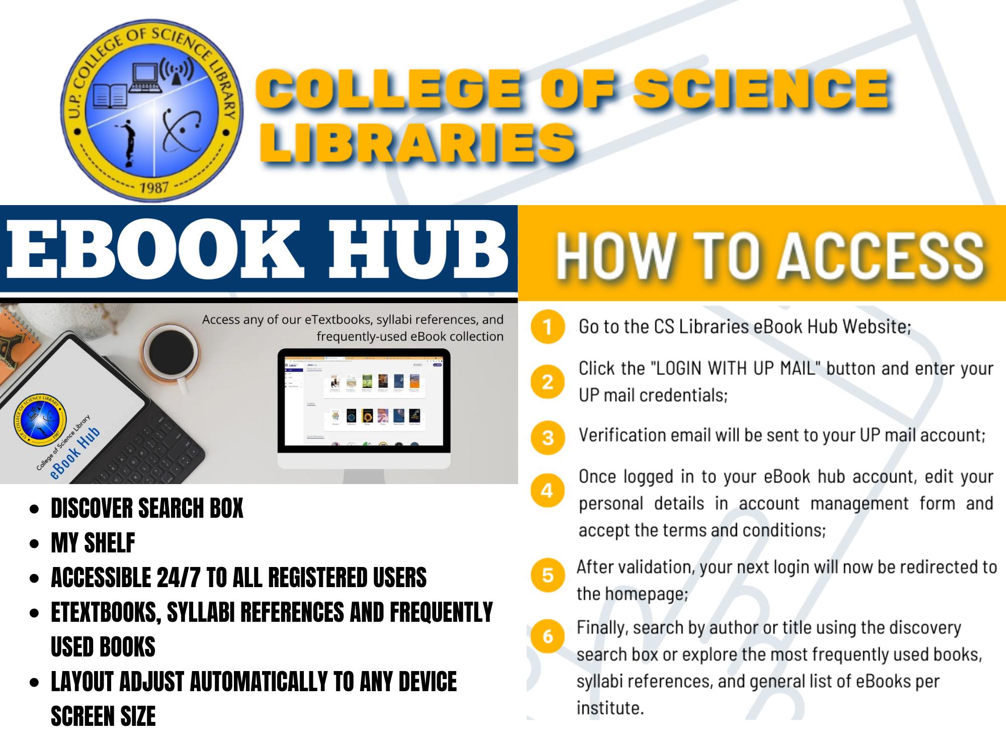 CS Libraries eBook Hub